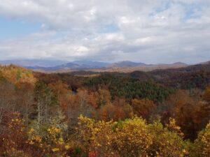 Off season in western North Carolina