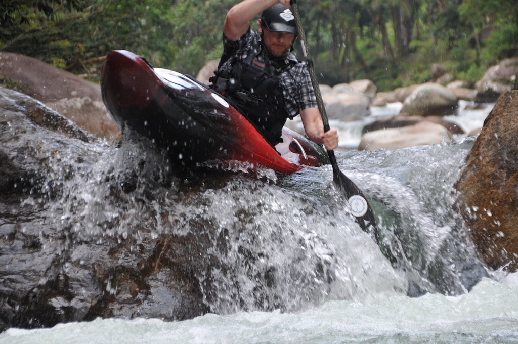 Ecuador kayaking is a test of skill