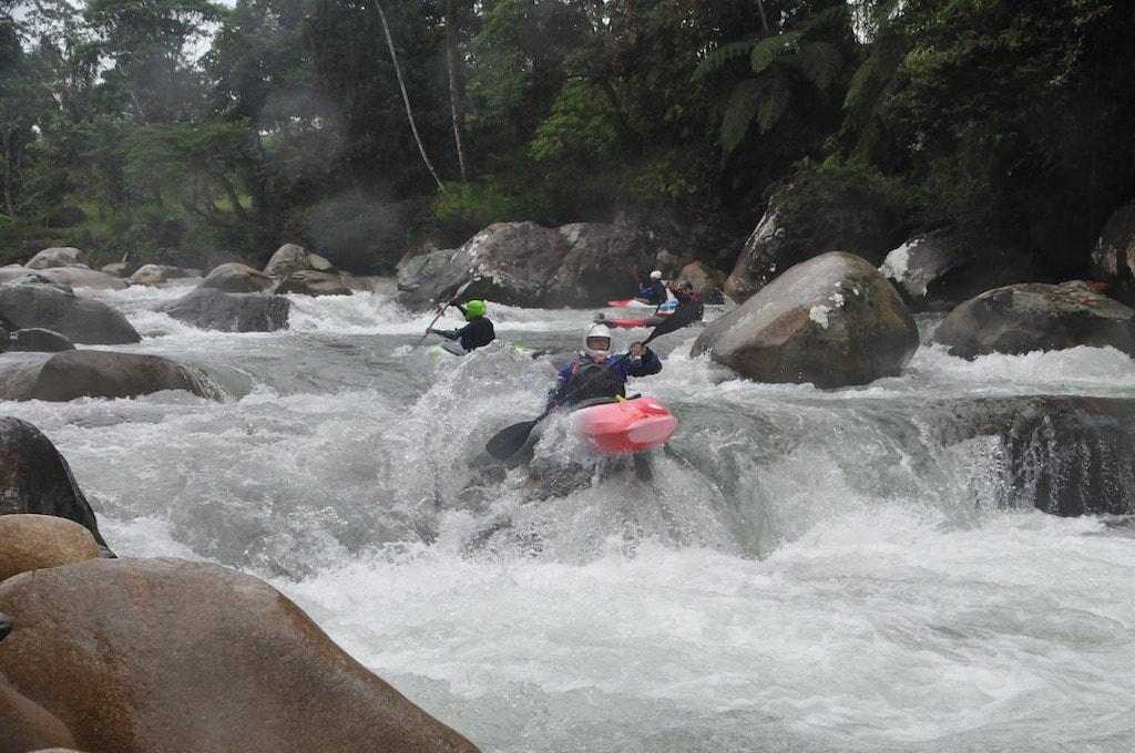 Amazing kayaking in Ecuador