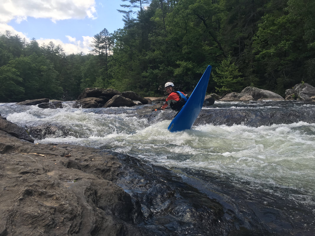 Once you learn to kayak, then you learn more advance moves