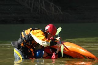 Learning to roll your kayak is a foundational skill
