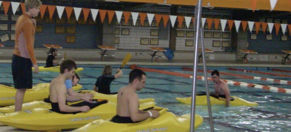 practicing your kayak roll
